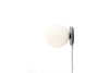MENU TR Table Wall Lamp - Grey Marble & Matt Opal (Lighted) | Wall & Table Lighting | Bibliotek Design