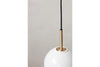 MENU TR Pendant Lamp - Brushed Brass & Shiny Opal Mood | Pendant Lamps & Lighting | Bibliotek Design
