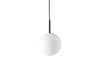 MENU TR Pendant Lamp - Black & Shiny Opal | Pendant Lamps & Lighting | Bibliotek Design