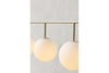 MENU TR Suspension Frame - Brushed Brass Mood | Pendant & Ceiling Lighting | Bibliotek