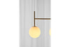 MENU TR Suspension Frame - Brushed Brass Details | Pendant & Ceiling Lighting | Bibliotek