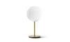 MENU TR Table Lamp - Brushed Brass & Shiny Opal | Desk & Table Lighting | Bibliotek Singapore