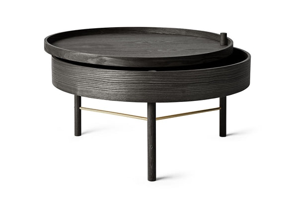 MENU Turning Coffee Table Black Ash | Home Furniture Online | Bibliotek