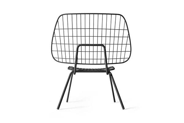 MENU WM String Lounge Chair Black | Chairs & Furniture | Bibliotek