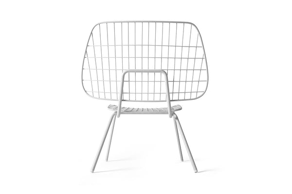 MENU WM String Lounge Chair White | Chairs & Furniture | Bibliotek