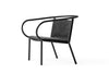MENU Afteroom Lounge Chair, Black | Chairs & Furniture | Bibliotek