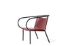 MENU Afteroom Lounge Chair, Burgundy | Chairs & Furniture | Bibliotek