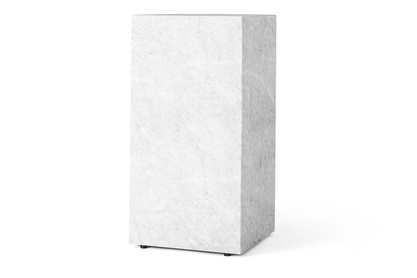 Menu Plinth Tall, Marble | Coffee Tables & Furniture | Bibliotek