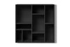 Montana COMPILE Wall & Book Shelf Anthracite | Shelves & Furniture | Bibliotek