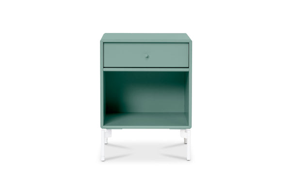 Montana DREAM Bedside Table Green Tea | Side Tables & Furniture | Bibliotek