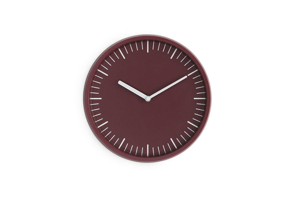 Normann Copenhagen Day Wall Clock Red | Wall Clocks Online | Bibliotek