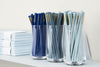 Normann Copenhagen Long Drink Glass with Stationery | Drinkware & Glassware| Bibliotek