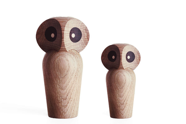 Architectmade Owl, Oak | Home Decor | Bibliotek Design Store