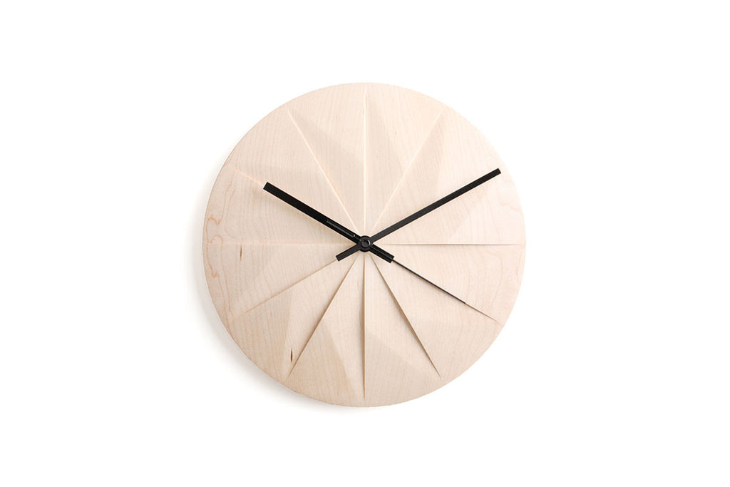 Pana Objects Shady Wall Clock | Clocks | Bibliotek Design Store