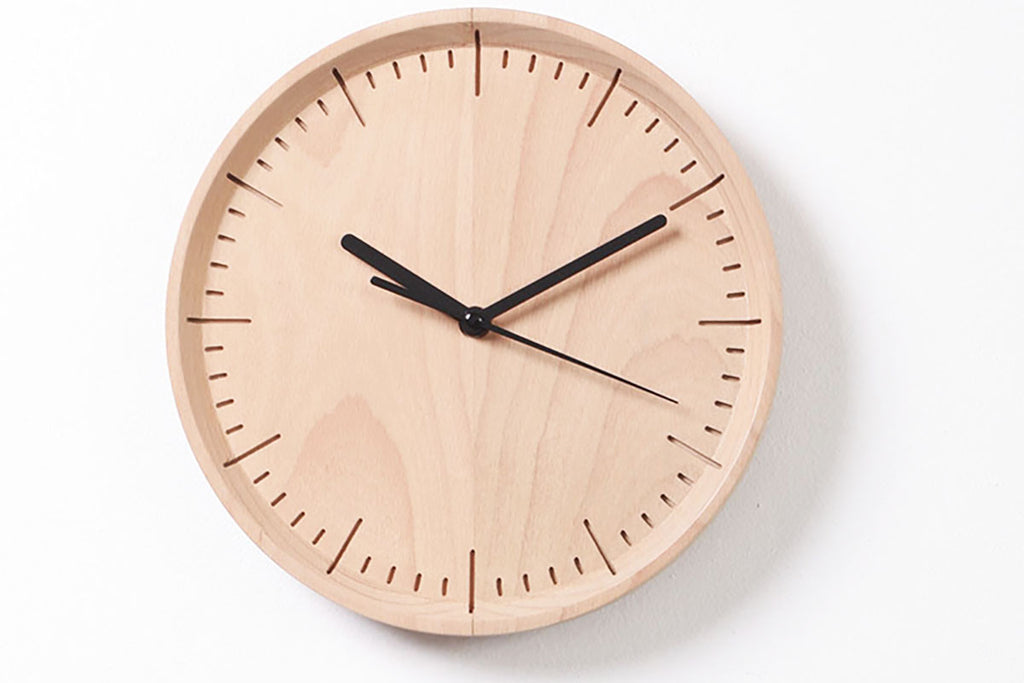 Pana Objects Meter Wall Clock | Clocks | Bibliotek Design Store