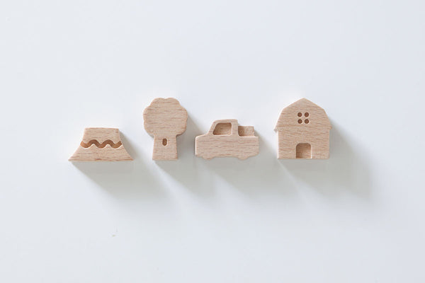 Pana Objects Small Ville (Country) Magnet Set | Stationery | Bibliotek