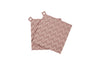 RIG TIG HOLD-ON Pot Holders 2pc Misty Rose | Kitchen Linen & Textile | Bibliotek