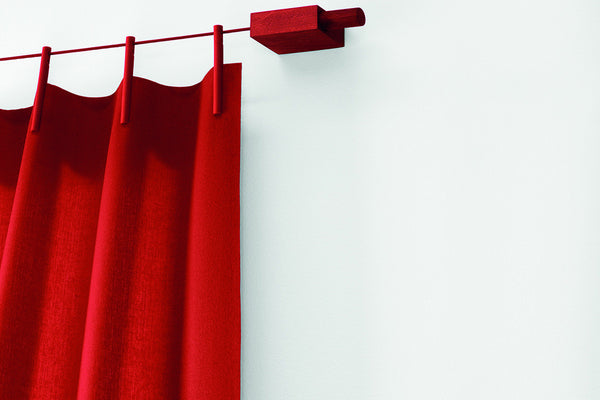 Ready Made Curtains Woven, Red, Ronan & Erwan Bouroullec, Bibliotek Design Store