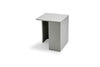 Skagerak Building Side Table Light Grey Low | Side Tables & Furniture | Bibliotek
