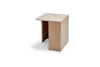 Skagerak Building Side Table Oak Low | Side Tables & Furniture | Bibliotek
