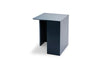Skagerak Building Side Table Dark Blue High | Side Tables & Furniture | Bibliotek