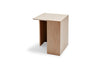 Skagerak Building Side Table Oak High | Side Tables & Furniture | Bibliotek