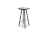 Skagerak Georg Bar Stool Black High | Chairs & Furniture | Bibliotek