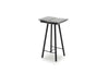 Skagerak Georg Bar Stool Black Low | Chairs & Furniture | Bibliotek