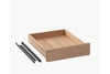 Skagerak Georg Desk with Drawer Oak | Tables & Furniture | Bibliotek