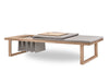 Skagerak Pulse Daybed Oak with Lid | Lounge Chairs & Furniture | Bibliotek