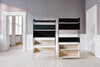 Skagerak Vivlio Shelf  Black Ash Bedroom Furniture |Modular Storage Furniture |Bibliotek