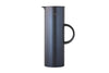 EM77 Vacuum Jug Dark Blue Metallic | Jugs and Carafes | Bibliotek