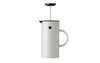 Stelton EM French Press Coffee Maker, White|  Coffee & Tea | Bibliotek