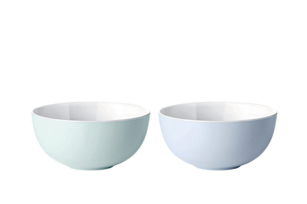 Stelton Emma Bowl, Blue Set of 2 pcs | Dinnerware & Tableware | Bibliotek