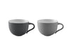 Stelton Emma Cup, Grey Set of  2 pcs | Dinnerware & Tableware | Bibliotek