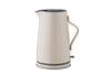 Stelton Emma Electric Kettle, Nude | Kitchen Appliances | Bibliotek
