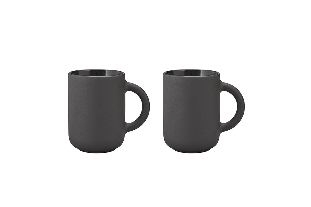 Theo Mug, set of 2 | Drinkware & Mugs | Bibliotek Design Store