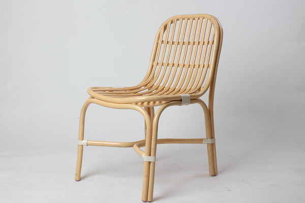 Studio Hiji Grid Side Chair, Natural | Furniture, Chairs & Stools | Bibliotek Design Store