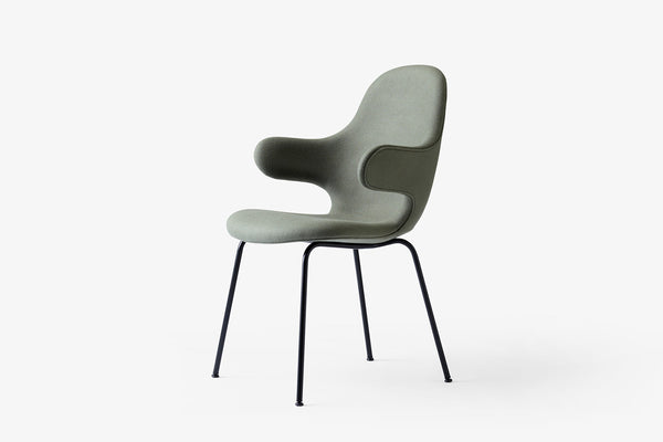 &Tradition Catch Chair JH15 Green | Designer Chairs & Furniture | Bibliotek