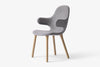 &Tradition Catch Chair JH1 Grey, Oak Frame | Designer Chairs & Furniture | Bibliotek