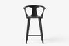 &Tradition In Between Bar Stool SK7 Black Stained Ash | Designer Furniture | Bibliotek