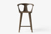&Tradition In Between Bar Stool SK7 Smoked Oiled Oak | Designer Furniture | Bibliotek