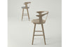 &Tradition In Between Bar Stool SK7 White Oiled Oak Lifestyle | Designer Furniture | Bibliotek