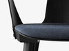 &Tradition In Between Chair SK2 Black Stained Ash Anthracite Close Up | Designer Chairs & Furniture | Bibliotek
