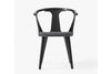 &Tradition In Between Chair SK2 Black Stained Ash Anthracite | Designer Chairs & Furniture | Bibliotek