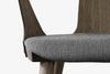 &Tradition In Between Chair SK2 Smoked Oiled Oak Grey Close Up | Designer Chairs & Furniture | Bibliotek