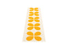 Pappelina Aki Rug, Orange | Swedish Plastic Rugs | Bibliotek Design Store