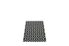 Pappelina Honey Rug, Black | Swedish Plastic Rugs | Bibliotek Design