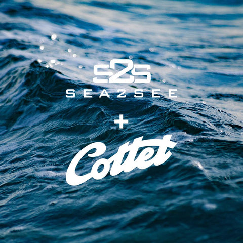 Cottet and sea2see sustainable eyewear