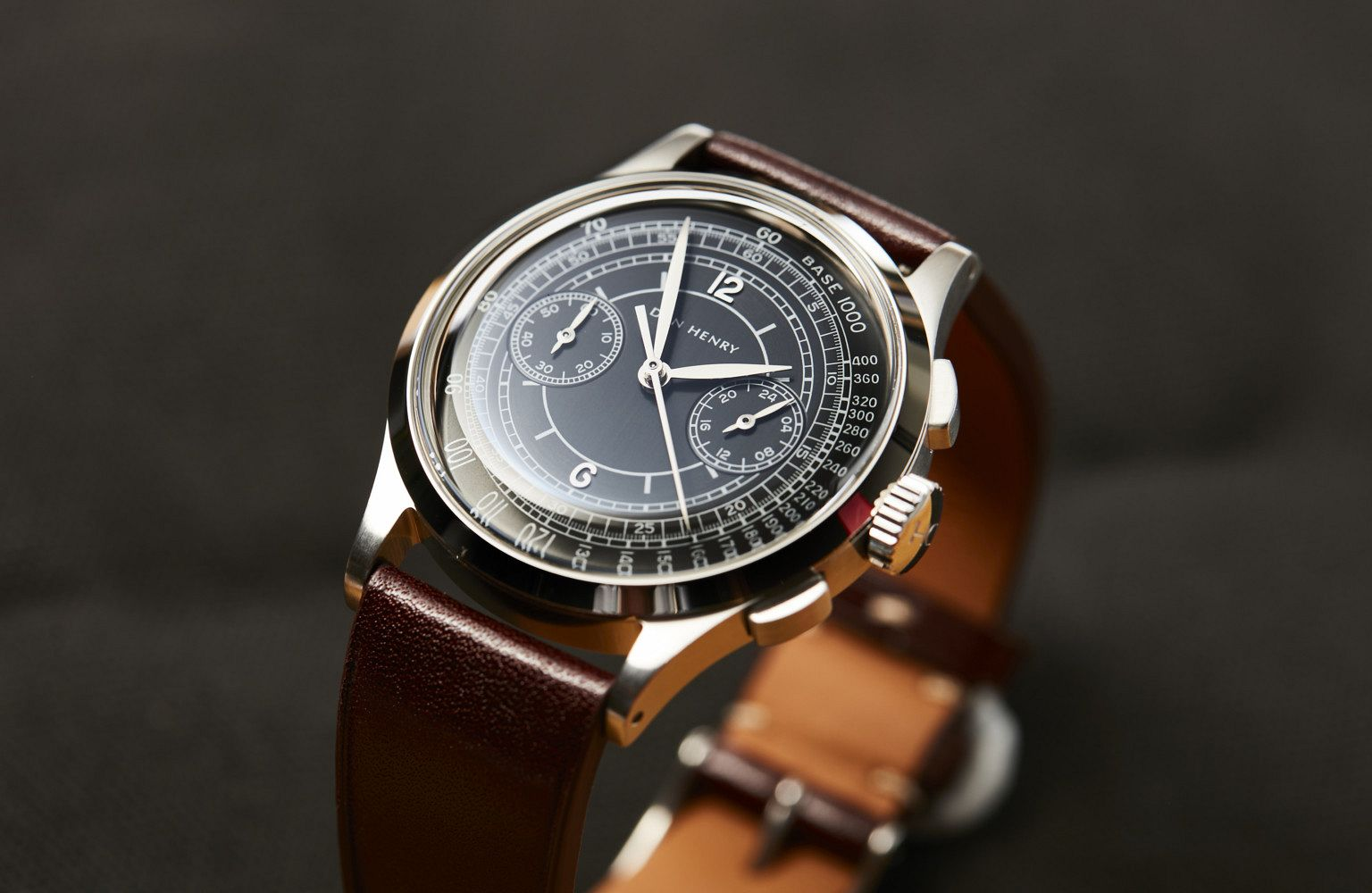 Dan Henry 1937 Dress Chronograph: An homage to the Art Deco era and the gorgeous watches it spawned.